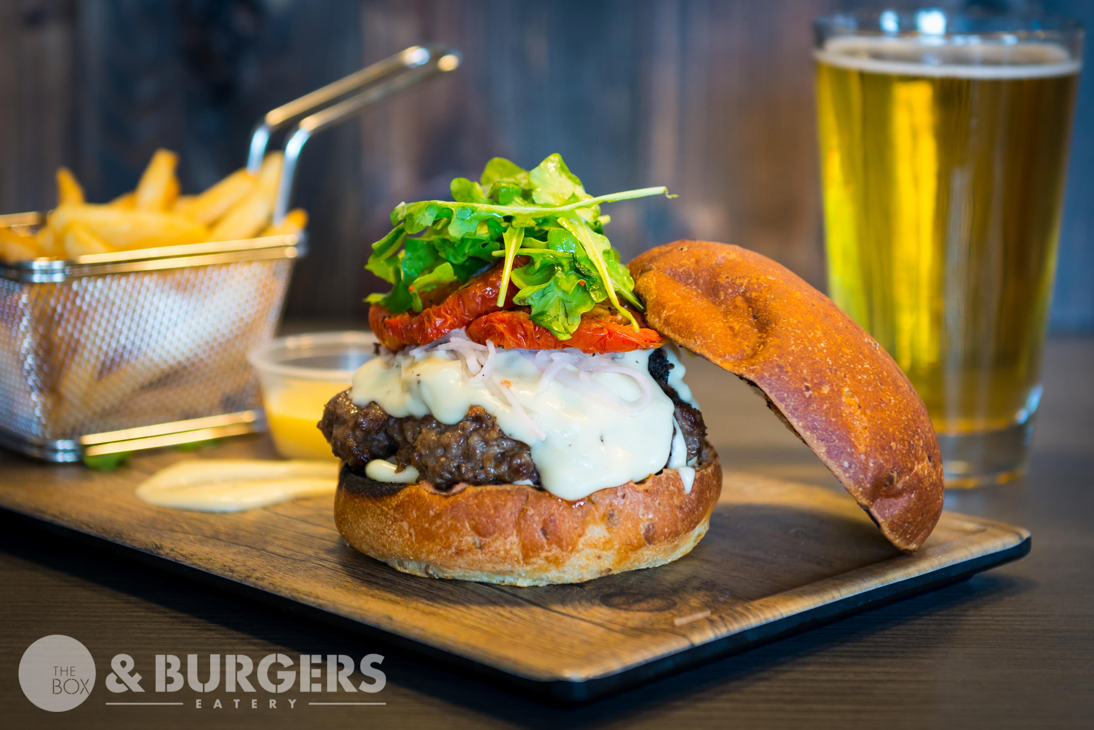 The Box & Burgers Eatery Now Open in Kirkland!