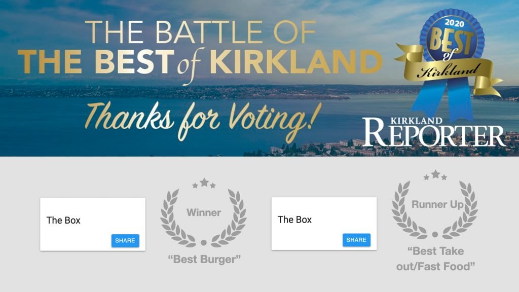 The Battle of Kirkland Best Burger